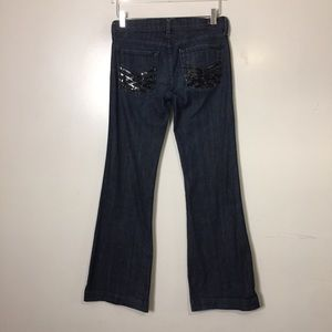 7 For All Mankind Dojo Jeans. Size 27